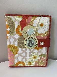 NWT SPARTINA 449 Tibi Soli iPad Cover E-BOOK COVER - Line & Leather