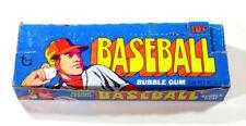 1972 Topps Béisbol Vacía Cera Paquete Pantalla Caja Con 24 Envoltorios