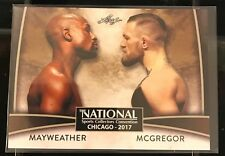 Floyd Mayweather / Connor McGregor 2017 Leaf NSCC National Exclusive VIP #VIP-02
