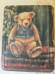 Teddy Bear Fosters Biscuit toffee sweet tin 2004.