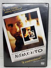 Memento Dvd (New Sealed)