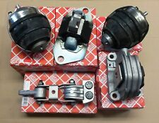 5X FEBI Motorlager Motorhalter Satz Für Volvo S60 S80 V70 XC90 XC70 2.4D D5 01-