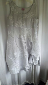 Phase Eight Linen dress. one size but will fit size 20