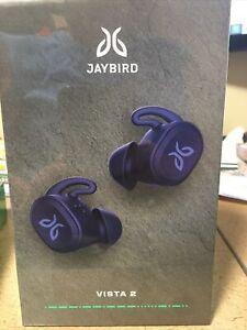 JAYBIRD VISTA 2 True Wireless Sport Headphones Blue New Sealed 985-000930