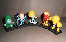 5 Mini Figures Deformed Corinthian Marvel FANTASTIC FOUR 4 F4 4 + DOCTOR DOOM