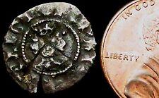 S659: Henry V Hammered Silver Halfpenny: London, im pierced cross, Cl.C, S.1794
