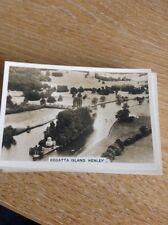 Cigarette Card Senior Service Britain From The Air Regatta Island Henley b1d