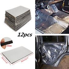 12 Qty 5mm Firewall Sound Deadener Car Heat Shield Insulation Deadening Material