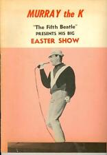 "Murray the K ""The Fifth Beatle"" presents his Big Easter Show Program"