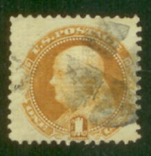 US# 112 1c Franklin  VF SOUND Nice Color! Scott 2015 Cat Val $150.00