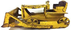 "Vintage 1950's Doepke Model Toys Rossmoyne, Ohio 15""l D6 Caterpillar Bulldozer"