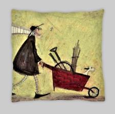Sam Toft Estilo Lino Doble Cara Cushion Covers 45x45 (18x18)