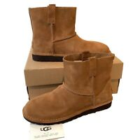 Women's UGG Boots Size UK 5.5 and 6.5 Classic Mini Unlined Chestnut Suede Boxed