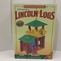 Lincoln Logs Grizzly Canyon Lookout Used Complete Great Condition