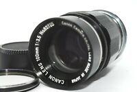【EXCELLEN++++】Canon 100mm f/3.5 Leica Screw Mount LTM L39 lens from Japan 1145