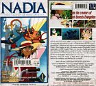 Nadia Secret Blue Water Vol 1 Adventure Begins Anime VHS Video Nw English Dubbed