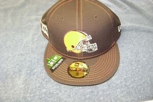 Cleveland Browns  LOGO NFL HAT / CAP 5950 SIZE 8 BRAND NEW $40  NEW ERA
