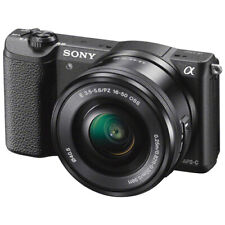 Sony Alpha a5100 Digital Mirrorless Camera - Brown w/16-50mm Lens