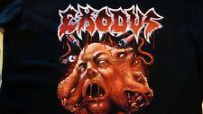 Exodus Rob Dukes T-Shirt Size L Heavy Metal Band