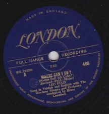 Leo Fuld on 78 rpm London 488: Where Can I Go?/Hebrew Chant