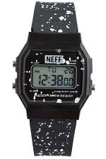 New Neff Mens Flava XL Surf Digital Wrist Watch Crew Black