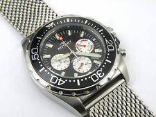 Rotary AGS00013/C/04 Gents Aquaspeed Divers Shark Mesh Watch - 100m