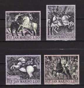 S27589) Dealer Stock San Marino 1968 MNH P. Bird Paintings 4v (X10 Sets)