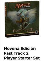 MTG Novena Edición,Ninth Edition Fast Track 2 Player Starter Set Starter ITA