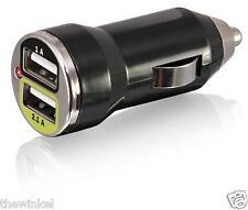 Bracketron UGC-298-BL Dual USB Car Charger