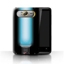 STUFF4 Back Case/Cover/Skin for HTC HD7/Lightsaber Laser Sword