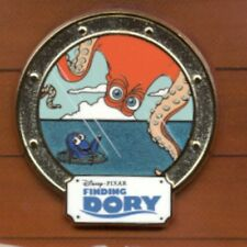 Pixar Disney Movie Rewards Finding Dory Hank and Dory Pin