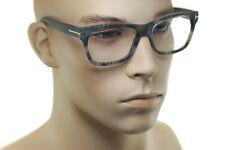 TOM FORD FT5468 056 55mm Mens LARGE Square Plastic Eyeglasses Frames GREY HAVANA