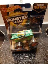 Dragon Hot WHEELS Monster Jam Truck 1:64 Diecast  Edge Glow team flag