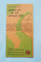 Man's Life in the Space Age - Brochure - Seattle World's Fair - Bubbleator