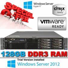 2x { Dell Poweredge R710 2x 3.06GHz X5675 Fx 128GB DDR3 8x300GB 10K Disques}
