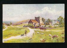 Yorkshire Yorks GOATHLAND artist Arthur Varney 1927 PPC