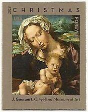 USA NO Die Cuts Sc. 4815b (46¢) Virgin & Child 2013 MNH single