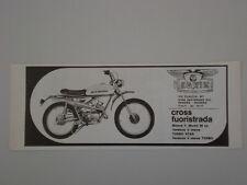 advertising Pubblicità 1973 NEGRINI CROSS FUORISTRADA  50