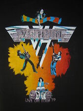 Vintage Concert T-SHIRT VAN HALEN 79 DAVID LEE ROTH NEVER WORN  NEVER WASHED