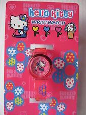 Sanrio Hello Kitty Wrist  Watch FLOWER Collectible Vintage 1976, 2003 NEW