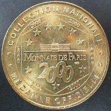 """2000 """"Monnaie de Paris"""" official brass medal! 34 mm, 15.7 g!"""