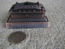 American Civil War Fort Sumter Miniature Pencil Sharpener Collectible Die-Cast