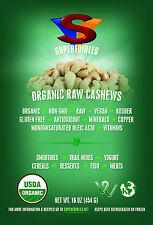 Organic Raw Cashews 1 Pound  Fast Delivery