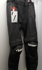 NOS Icon Overlord Prime Pant Leather Black Size 44 2811-0281