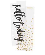 Simple Stories Personal Planner Bookmarks Dividers, set of 2, fits Kikki K