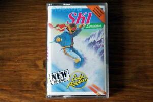 Professional Ski Simulator - Amstrad CPC 464 664 6128 - Code Masters game 1987