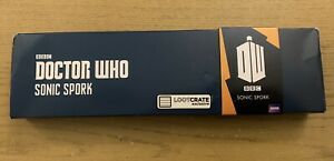 11th Doctor Who Sonic Screwdriver Spork Fork Spoon Cutlery Utensil Lootbox