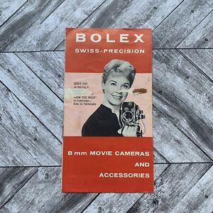 Vintage Bolex Swiss Precision 8mm Movie Cameras Instruction Manual Guide