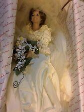 Danbury Mint - PRINCESS DIANA 1986 BRIDE DOLL