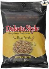Dakota Style Savory Bacon Sunflower Kernels, 8 Ounce (Pack of 12)